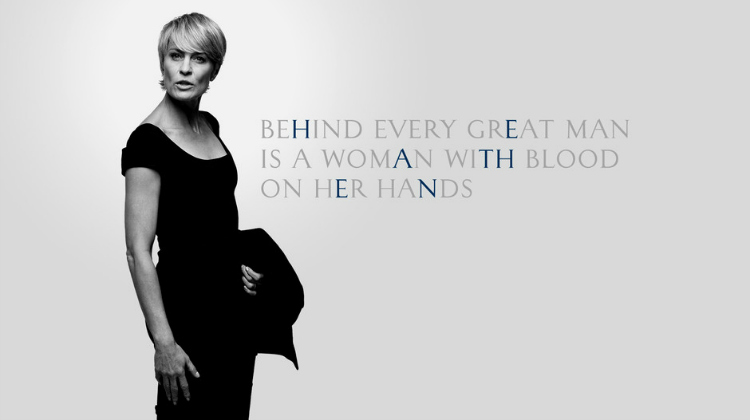 Claire Underwood poster
