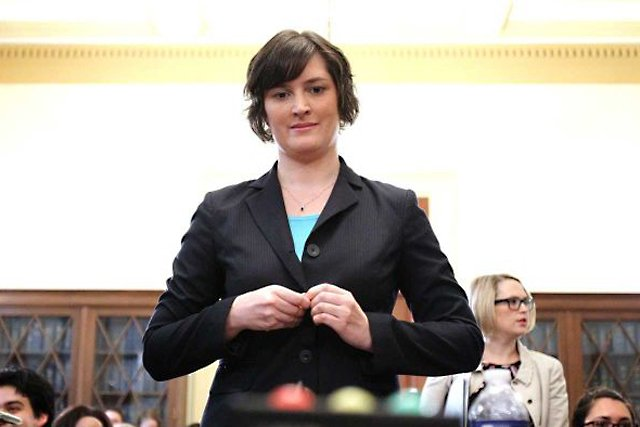 Sandra Fluke's testimony before an informal gathering of Democrats in Congress was a farce on 21st century America. Did Rush Limbaugh's statements hit uncomfortably close to home? (Photo: Associated Press)