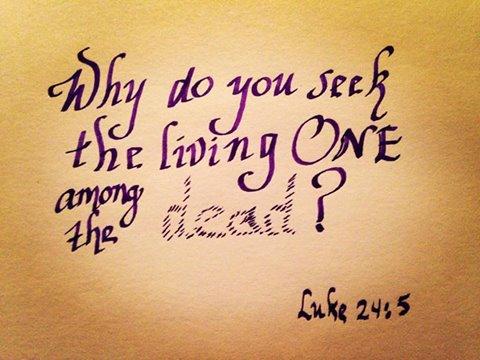 Luke 24:5